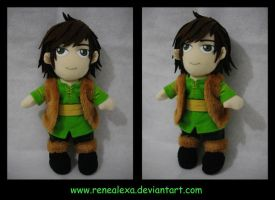 Hiccup - HTTYD - Plushie by renealexa