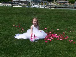 Flower Girl and her Petals by Thora-T