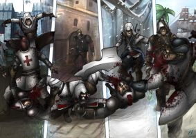 Assassins Creed- The Assassins by MatthewHogben