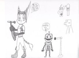 Ratchet and Clank: Help! I'm a fish. by Ayuki-Karpy