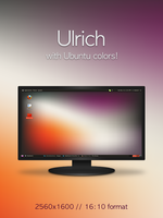 Ulrich Ubuntu Wallpaper by 1nteresting
