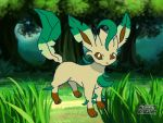 Leafeon by mgunnels3