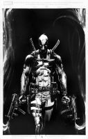 Deadpool Sketch by BrianThies
