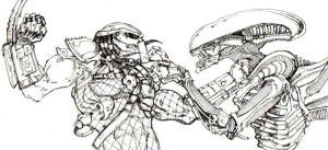 Alien vs. Predator AVP by ChrisOzFulton