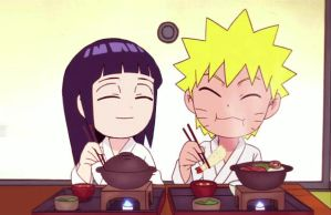 NaruHina relax time. by 777luck777
