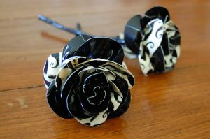 Moustache Roses by aphid777