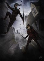 The Assassin and the Thief by John-Stone-Art