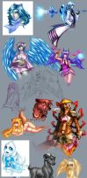 2008 drawing compilation 2. by Pirate-Cashoo