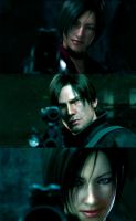 Resident Evil Damnation Collage 4 by Livy-Livy