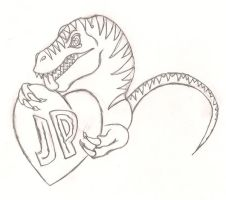 For the Love of Jurassic Park by DragonofRampage
