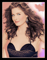 Debra Messing Colorize by lorepocket