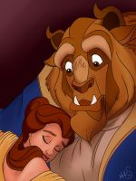 Beauty and the Beast by Miss-Melis