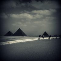 Black Pyramids by lostknightkg