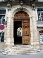 Lyon France Doorway by BillReinhold
