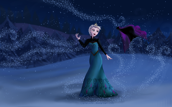 The Cold Never Bothered Me Anyway by CarlaGriffin