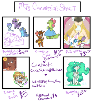 Commission price sheet by Mini-Tea