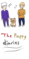 Puppy Diaries Cover by TazAndMe