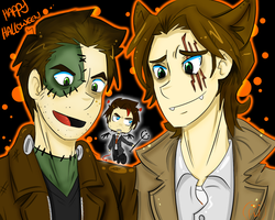 SPN Halloween by ButtMantis