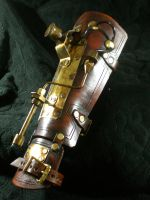 steampunk Pea Shooter Bracer1 by Skinz-N-Hydez