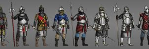 Soldiers of Falteria by Kaloith