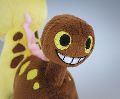 Girafarig Pokedoll Backside by caffwin