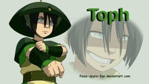 Toph is ready to battle by Crimson-Flazey