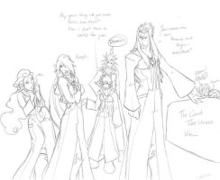 Saix hates his job by Draconian-tnias