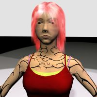 My first 3d character 2 by Girilla