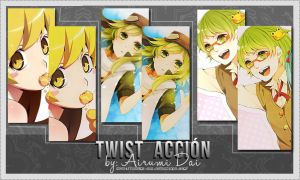 Twist Action by Airumi-Dai