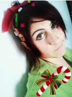vanellope cosplay by Shoratime-vocaloid