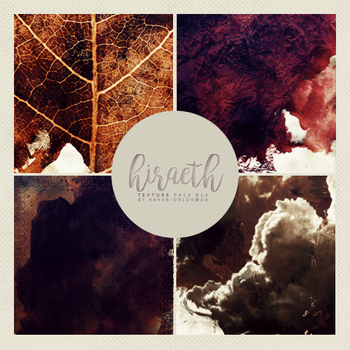 Texture Pack #12 - Hiraeth by RavenOrlov