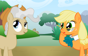 Mayor Applejack by MrBastoff