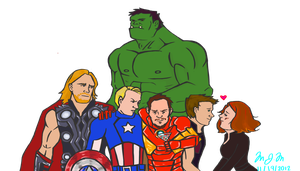 Avengers by callmewhateveruwant