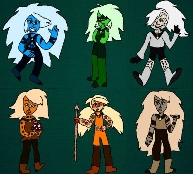Jasper OCs by AirwaveLOL