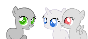 Filly Friends --BASE-- by iVuiAdopts