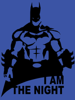 Batman - I am the night by JapoCW