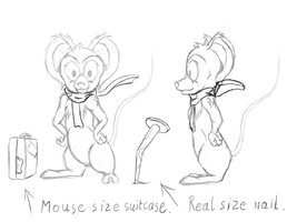 A mouse by Yukas-Armstrong