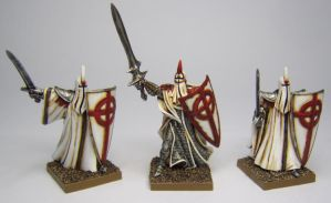 MORDHEIM Knights of the Light (Alluminas) by FraterSINISTER