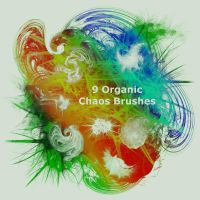 9 Organic Chaos Brushes by XResch