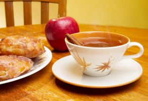 Hot Apple Cider by AmblingPhotographer