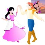 Disney style Romance: Phineas and Isabella by Willemijn1991
