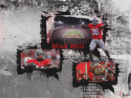 Brian Rolle Wallpaper by KevinsGraphics