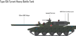 IRS Type 15A Tyrant Heavy Battle Tank by Target21