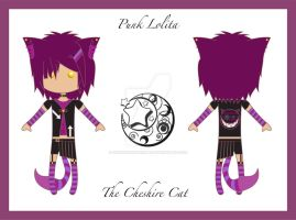 Lolita Cheshire Cat concept by DeliriousXDreamer