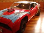 Mad Max The Road Warrior Ford Falcon Red XA Bat 3 by MALTIAN