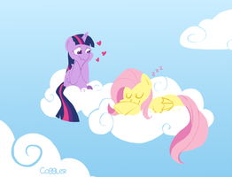 Cloud Nap by FrogAndCog