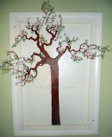 Tree Mural in my dining room by MJLong