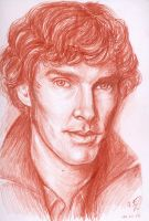 benedict cumberbatch by fel0ra