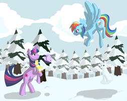 TwiDash in the Snow by otakugal15