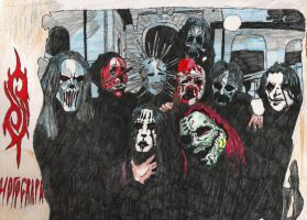 SLIPKNOT by Suicide666